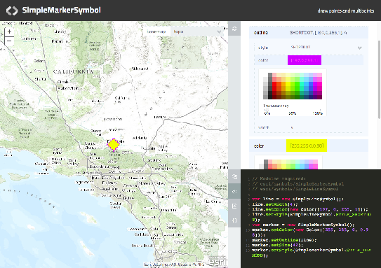Symbolizing graphics with renderers | Guide | ArcGIS API for