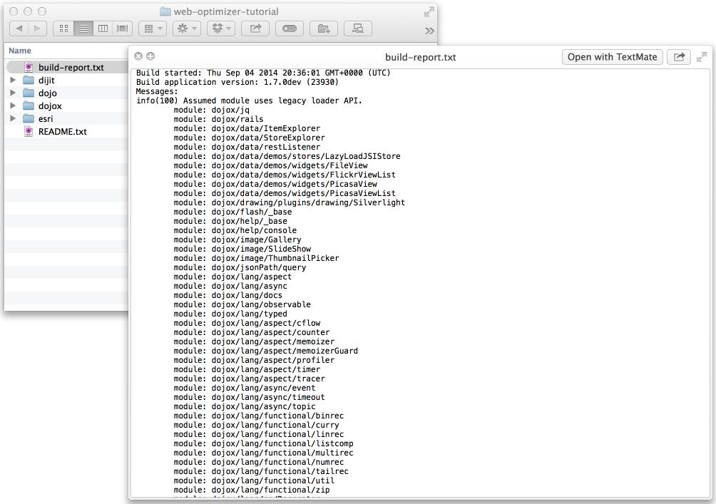ArcGIS API for JavaScript Web Optimizer   Guide   ArcGIS API