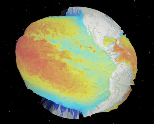 Custom ElevationLayer Thematic Data As Elevation ArcGIS API - Globe elevation