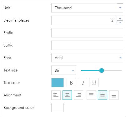 Infographic widget—Web AppBuilder for ArcGIS (Developer Edition