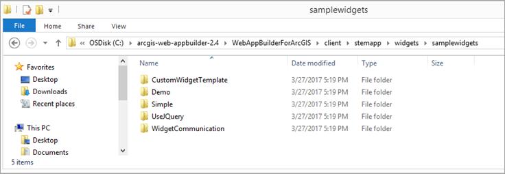 Create a custom widget using the Report dijit—Web AppBuilder